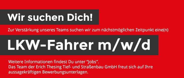 Jobsuche LKW-Fahrer(in)